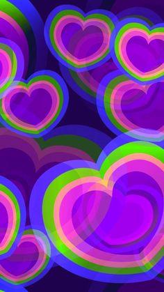 New purple wallpaper phone backgrounds valentines day Ideas Purple Wallpaper Phone, Cute Girl Wallpaper, Cute Wallpaper For Phone, Heart Wallpaper, Trendy Wallpaper, Cellphone Wallpaper, Colorful Wallpaper, Animal Wallpaper, Screen Wallpaper