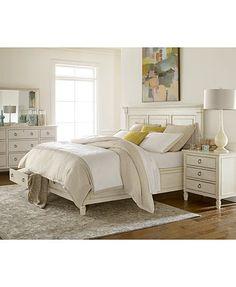Best Bridgeport 6 Piece Queen Bedroom Set – White In 2019 400 x 300
