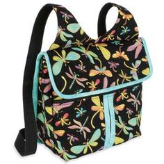 The Gadabout Bag - Great for School - Paper Sing Pattern mochilas bolsos Messenger Bag Patterns, Bag Patterns To Sew, Sewing Patterns, Back To School Bags, Tote Backpack, Quilted Bag, Fabric Bags, Purses And Bags, Embroidery Designs