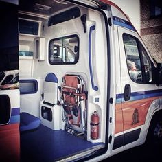 Public Security, Firefighters, Ems, Recreational Vehicles, Mercedes Benz, Medical, Ambulance, Interiors, Furniture