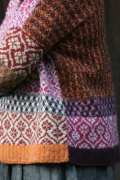 Ravelry is a community site, an organizational tool, and a yarn & pattern database for knitters and crocheters. Knitting Machine Patterns, Fair Isle Pattern, Fair Isle Knitting, How To Purl Knit, Couture, Textiles, Knit Fashion, Knitting Projects, Lana