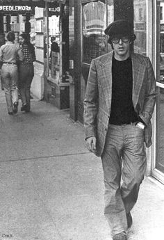 Al Pacino Madison Avenue, NY 1976.