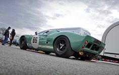 David Forsbrey's 1965 Hulme Class Ford GT40 MkI No.86 - 2011 Masters Historic Festival at Oulton Park