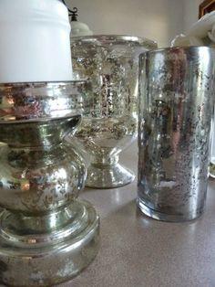 Best DIY Projects: DIY Mercury Glass Tutorial