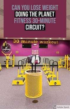 Can you lose weight doing the Planet Fitness 30-minute circuit?