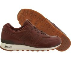 New Balance Men 1300 Explore by Sea M1300BER Horween Leather - Made in USA (brown)