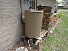 DIY system to recycle gray water from the washing machine. Detailed instructions. 6.5 Grey