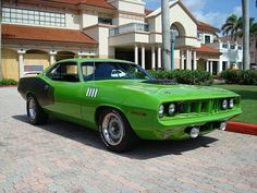 1971 Plymouth Hemi Cuda (aka My Dream Car)