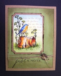 *WT374 Just a Note by hobbydujour - Cards and Paper Crafts at Splitcoaststampers