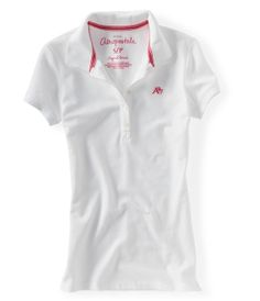 Girls Polos - Solid and Graphic Polos for girls | Aeropostale