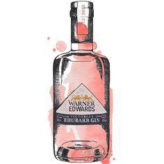 THE LIST   Market Harborough   Warner Edwards Gin Distillery Rhubarb Gin, Gin Distillery, Papers Co, Vodka Bottle, Marketing, Drinks, City, Beautiful, Drinking