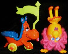 Upsy Downsy....my grandmother worked at Mattel and brought them home to me. I still have a whole box full of them