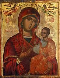 """Orthodox icon of the Most Holy Theotokos, Panagia, Virgin Mary, the Mother of God """"Eleousa ,""""Tenderness"""" or """"Showing Mercy"""".Copy of an icon of cent. Byzantine Icons, Byzantine Art, Religious Icons, Religious Art, Acrylic Wall Art, Canvas Wall Art, Renaissance Kunst, Original Paintings For Sale, Orthodox Icons"""