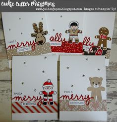 Cookie cutter Christmas, candy cane lane DSP