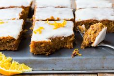 Thermomix Spiced Carrot Traybake