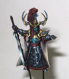 Lan Warhammer Dark Elves, Warhammer Armies, Warhammer Fantasy, 28mm Miniatures, Fantasy Miniatures, Stormcast Eternals, Grey Knights, Dark Eldar, Fantasy Figures