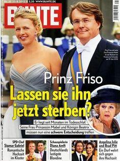 2012: Friso und Mabel von Holland