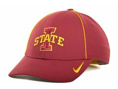 Nike - Dri-Fit Sideline Legacy 91 Cap - Adjustable - NCAA - Iowa State Cyclones #Nike #IowaStateCyclones