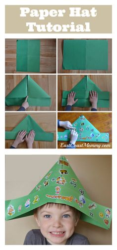 This is a fantastic, simple craft for kids... and the step-by-step tutorial is really easy to follow.