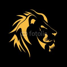 Vector: Logo Lion, strength and courage concept # Vector