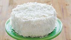 I must make this! Coconut Layer Cake #vegan