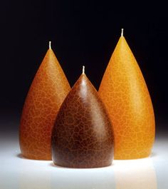 Barrick Candles Amber FF#9 Crackle Finish Candle