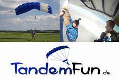 Dingolfing Niederbayern Fallschirmspringen Tandemsprung nähe München, Landshut und Regensburg mit Edi Engl. Gutschein online kaufen zu Weihnachten oder Geburtstag.