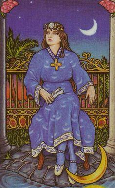 The High Priestess - Connolly Tarot