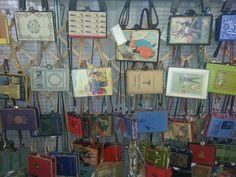 beautiful vintage book purses by kathleen scranton of beezbyscranton