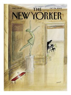 Sempé. The New-Yorker. 2005