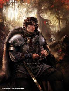 Robb Stark by Magali Villeneuve