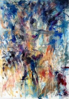 Konrad Biro art Dancer 70*100 cm Oil stretched canvas SOLD