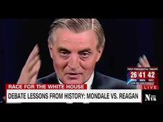 Debate lessons from History: Mondale VS. Reagan || Mondale vs Reagan deb...