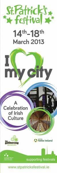 I Love My City #StPatricksFestival #Dublin 2013, supported by Dublin City Council #FailteIreland   #civicmedia2013