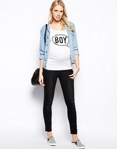 ASOS Maternity Shirts! Boy vs Girl.