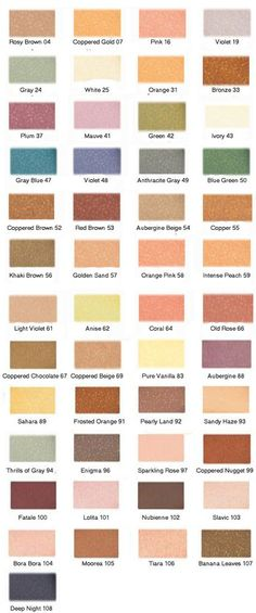 these shadows are just shimmery enough to brighten the eyes and add pizzaz, without becoming tacky and difficulty to work with. Densely pigmented, long-lasting, and simply stunning