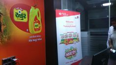 """#celebrating """" Dare the DNA """" activity at Ankur Oil Corporate office with delicious Macsy Foods products. #macsyfoods #fryums #wafers #namkeen"""