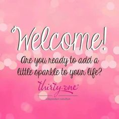 Welcome to Thirty-One! Ask me about the Fall for us incentive. www.mythirtyone.com/joannedupont