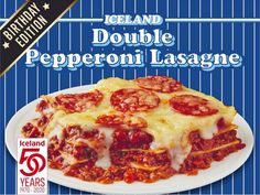 "Iceland turns 50 this year and, to celebrate, it's launching a ""swathe"" of ""exciting"" new products.  One of the new food launches in particular has got British mouths watering.  It combines the best bits of two popular dishes – pizza and lasagne.  Without further ado, prepare to drool…  Iceland has launched a Double Pepperoni Lasagne and it looks divine. The dish features delicious minced beef sandwiched between layers of pasta.  This is then smothered in a cheese sauce and topped with… Beef Sandwich, Frozen Meals, Mouths, Cheese Sauce, The Dish, Pepperoni, Iceland, New Recipes, Sandwiches"