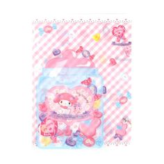 My Melody Clear File Candy ($3.50) ❤ liked on Polyvore featuring home, home decor, office accessories, paper file folder, pocket file folders, file folder and document file folder
