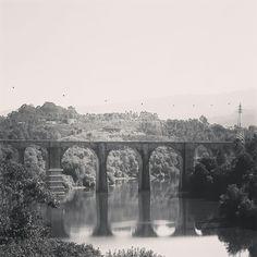 #ponte #bridge #railbridge #riotamega #marcodecanaveses #20140926