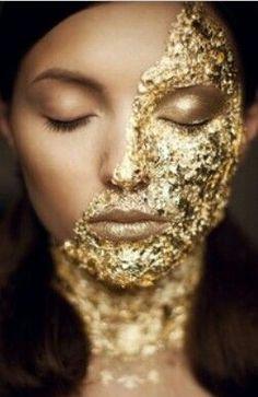 #gold #beauty #foil