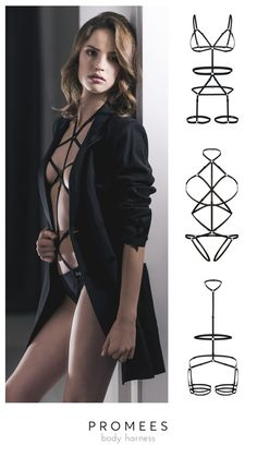 #promees #bodyharness #sexy #love #women