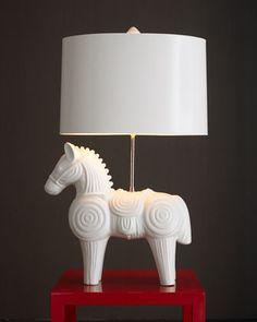 Jonathan Adler Trojan Horse Lamp