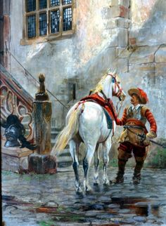 Cavalier horseman