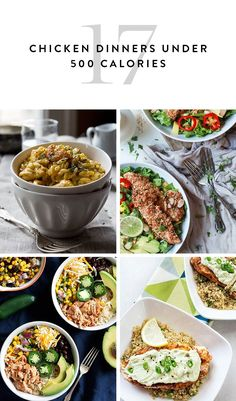 Save these 17 recipes: they're all mouthwateringly delicious and—best of all—not one tops 500 calories per serving.
