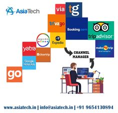 Manage your live inventories rates when you unexpected get so many hotel bookings at same time.  AsiaTech offer online channel manager software that helps hoteliers manage their room rates inventory in different OTA's in real time from single user dashboard.  If you want to know more about channel manager software then visit our website https://www.asiatech.in or you can call us +91-9654130894
