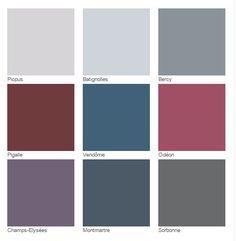 Nuancier Cosmopolitain | INFINIMENT ZOLPAN EDITION 2 #nuancier #couleurs #pastel #rose #bleu #rouge #gris #zolpan #peinture