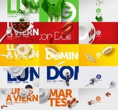 El Gourmet ReBrand - Ale Lan  motion design - tv branding - graphics package - style frames