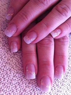 brides acrylic by AndreaStacey - Nail Art Gallery nailartgallery.nailsmag.com by Nails Magazine www.nailsmag.com #nailart